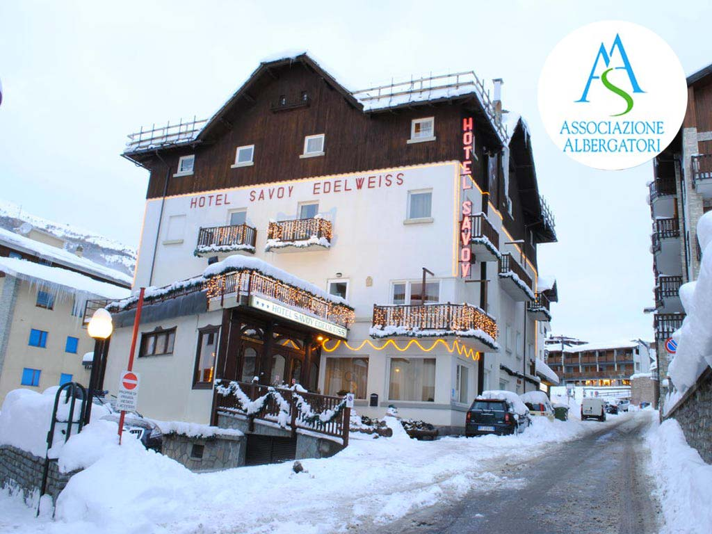 Dove dormire a Sestriere - Hotel Savoy Edelweiss