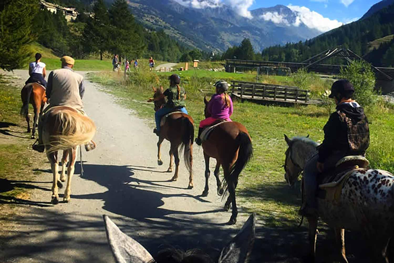 Equitazione e passeggiate a cavallo a Sestriere