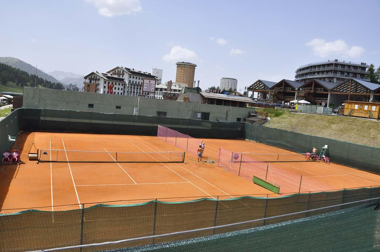 Tennis a Sestriere