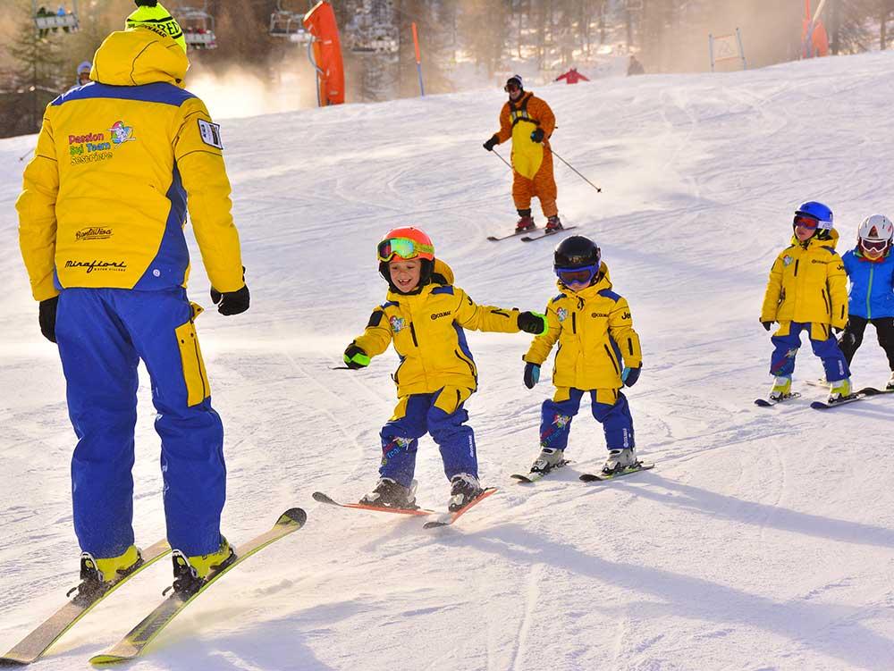 Scuole di sci a Sestriere Passion Ski team