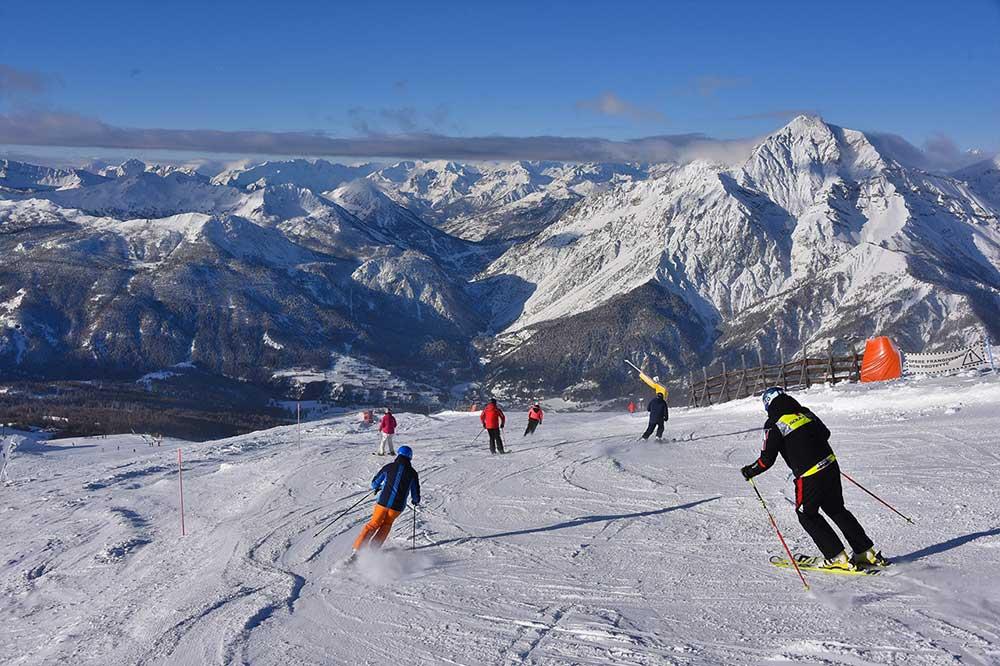 Dove sciare in montagna a sestriere