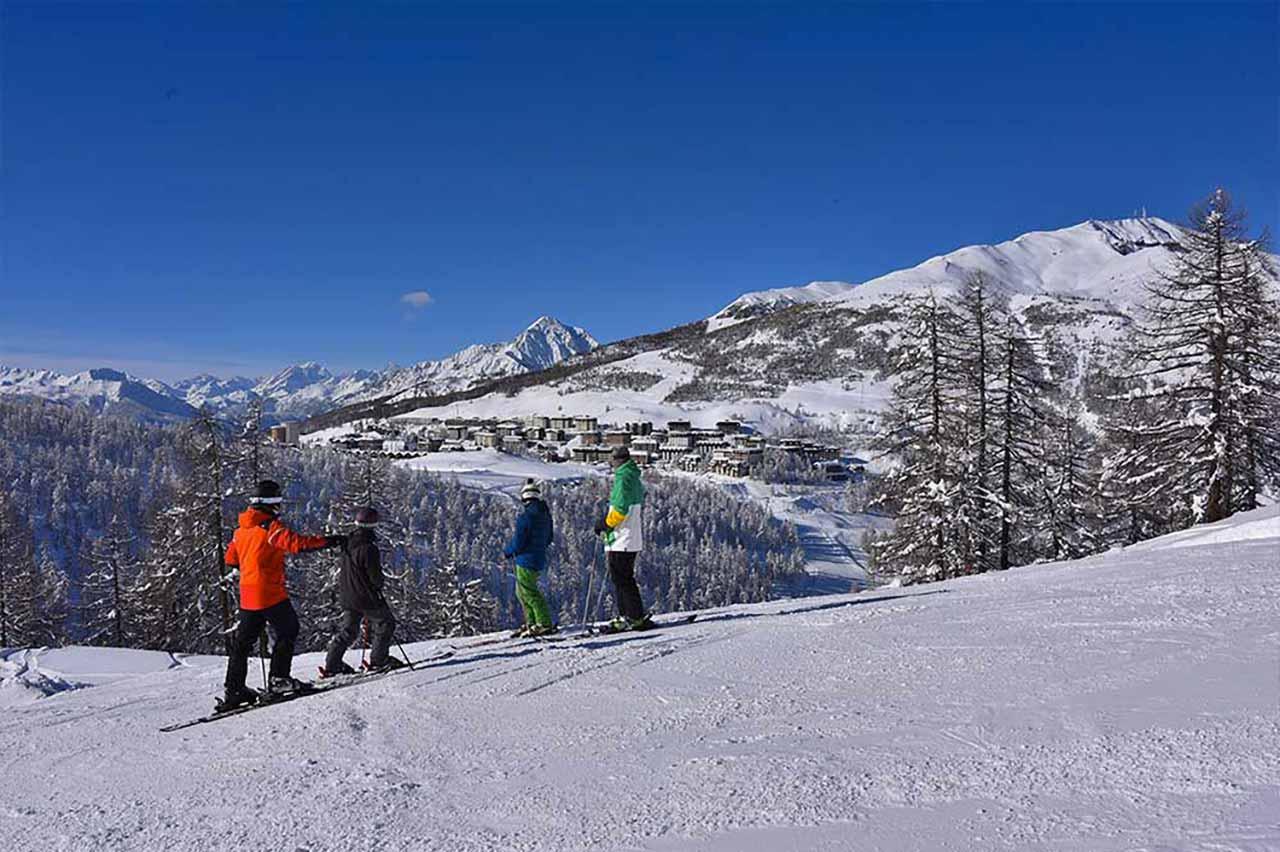 Sci e snowboard a Sestriere