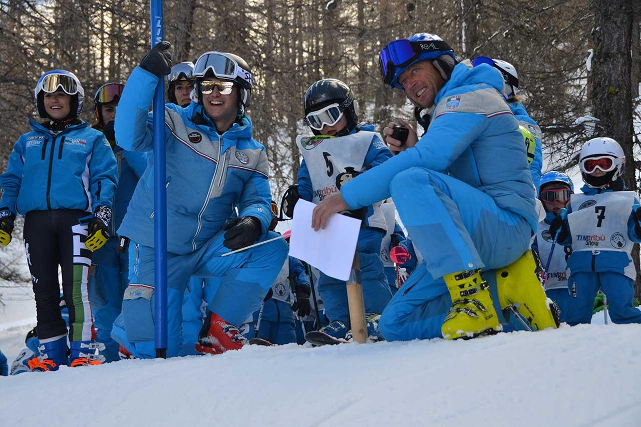 Scuole di sci a Sestriere Vialattea
