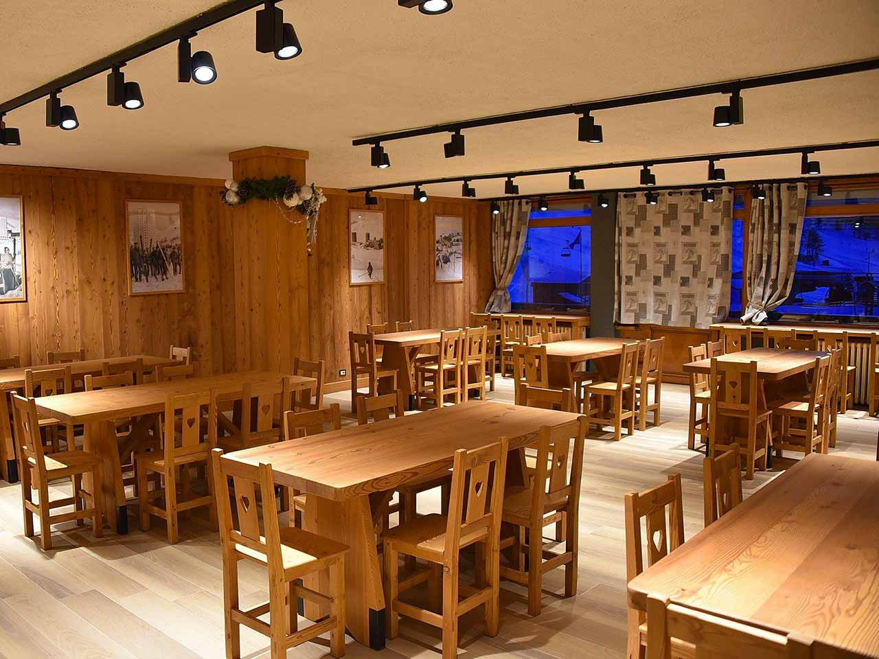 Bar e ristorante a sestriere - bar scuola di sci