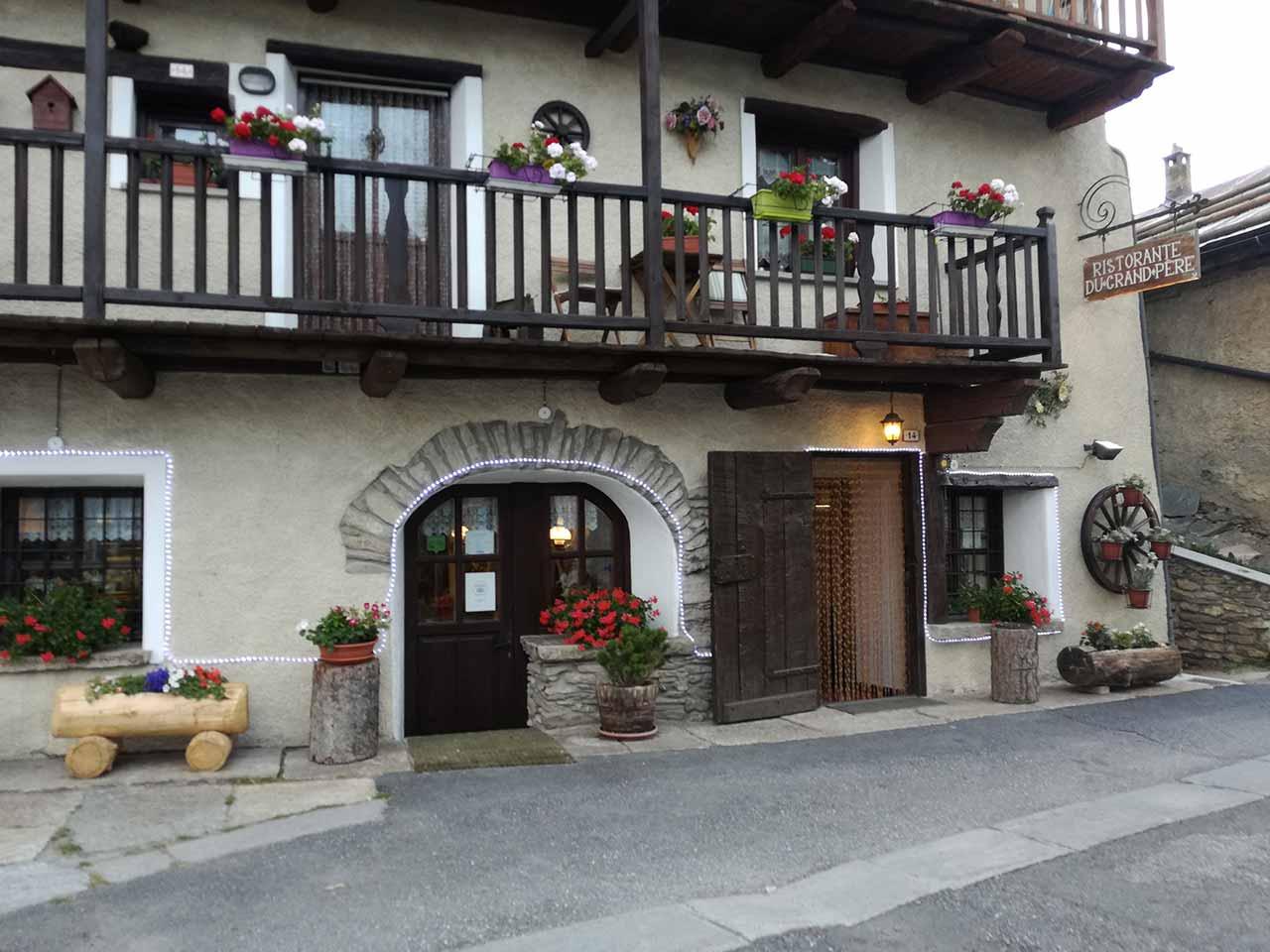 Dove mangiare a Sestriere Ristorante Du Grand Pere