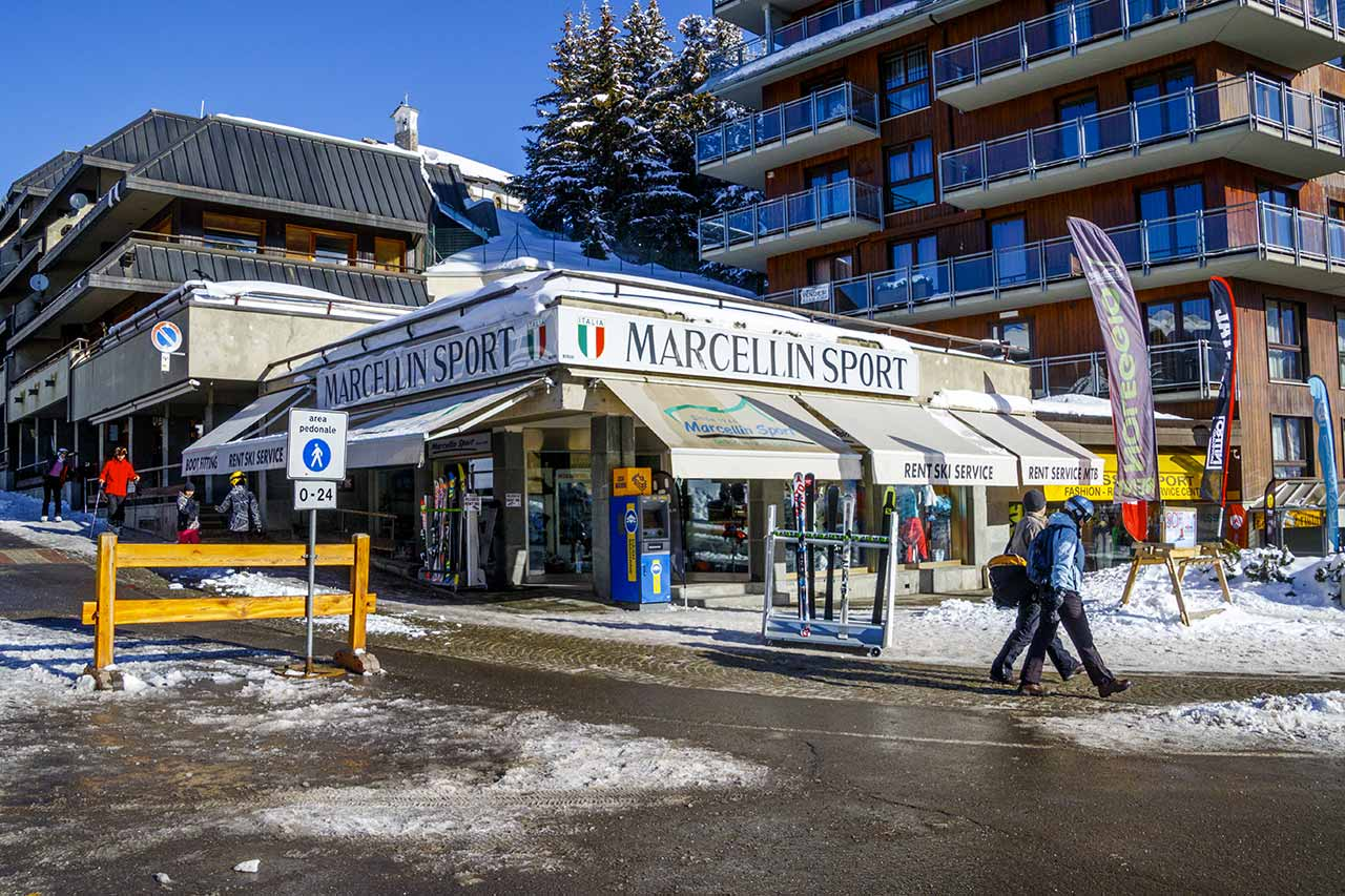 Shopping a Sestriere Marcellin Sport