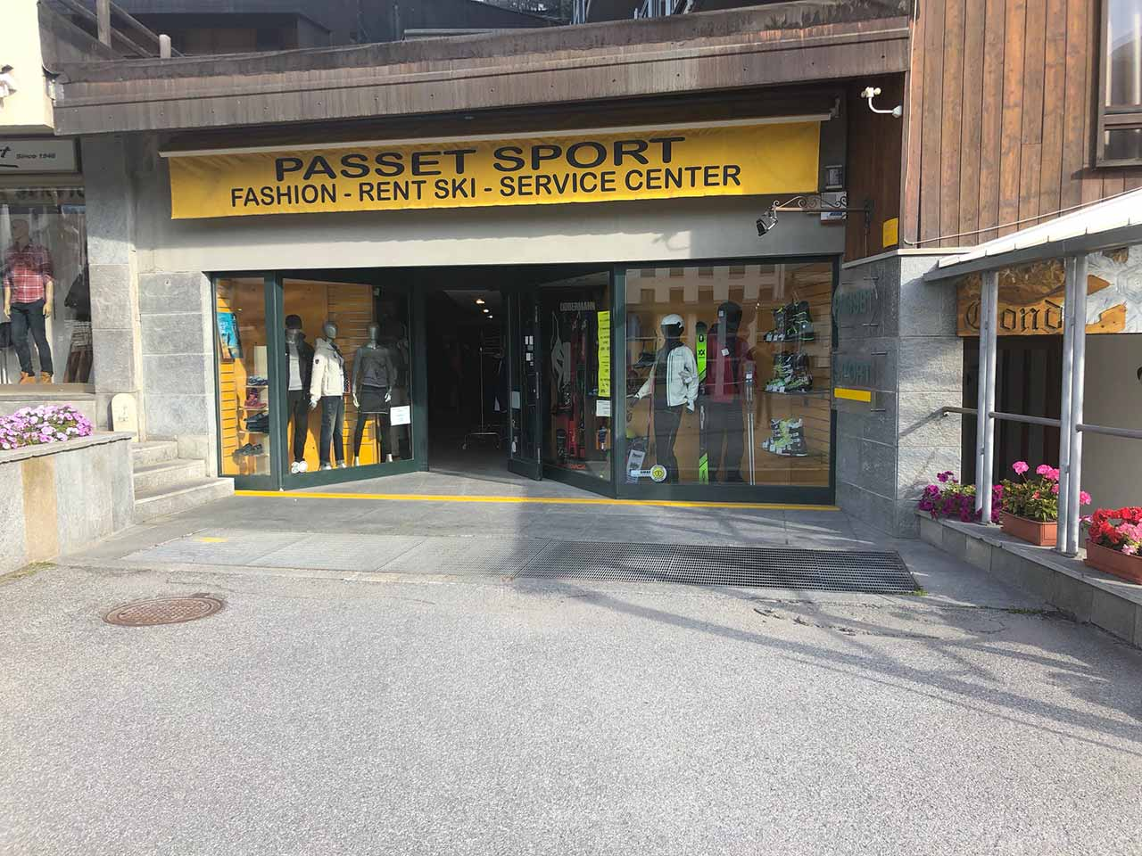 Shopping a Sestriere Passet Sport