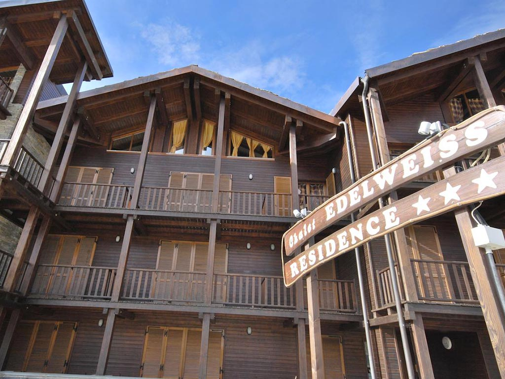 Dove dormire a Sestriere - Residence Chalet Edelweiss