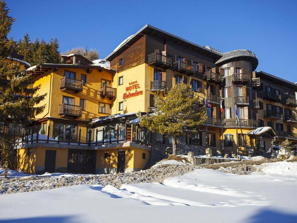 Dove dormire a Sestriere - Hotel Belvedere