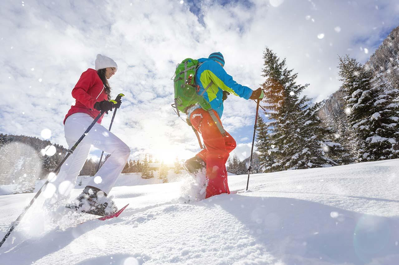 Ciaspole e passeggiate nella neve a Sestriere