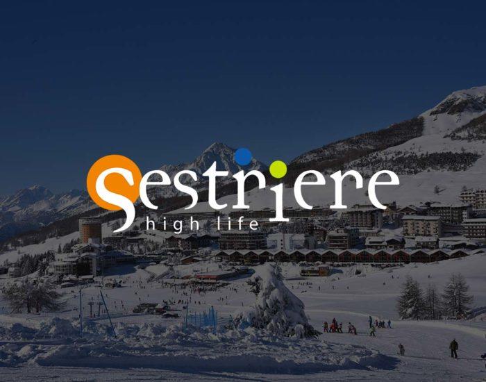 Sestriere località montana alpi italiane
